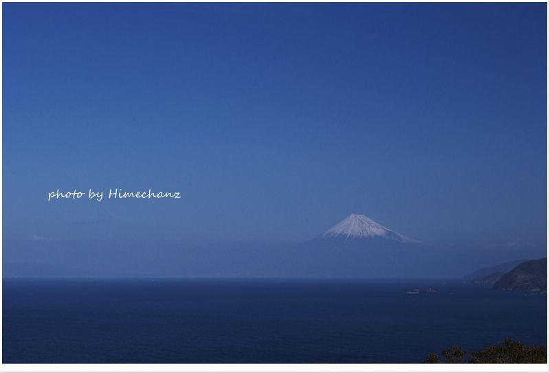 浅間神社から見る富士山