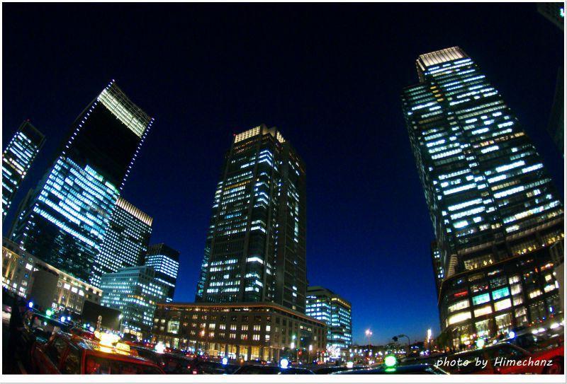 東京駅 丸の内ビル群