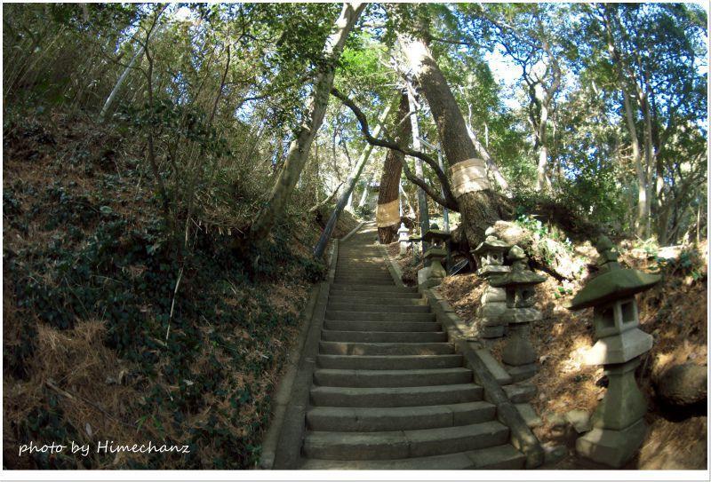 浅間神社の階段