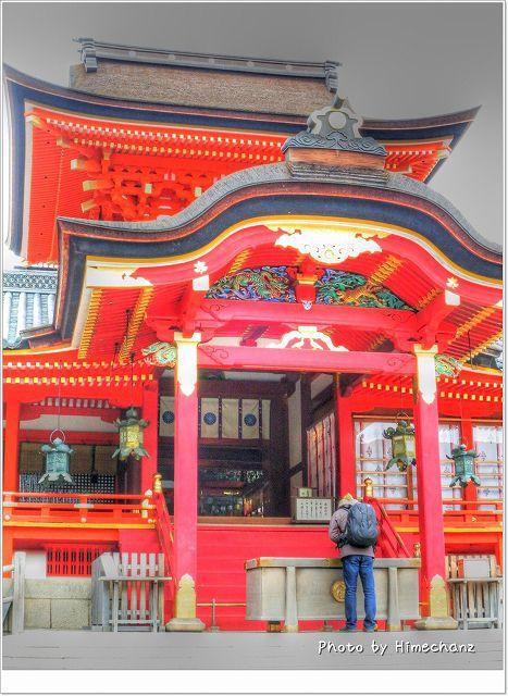 石清水八幡宮ご拝殿(過去写真)