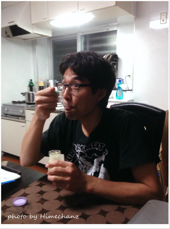 ふらの牛乳プリンがある時~♪ photo by iPhone 4S
