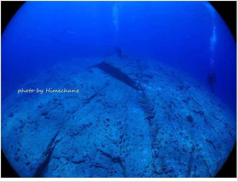 なんちゃって海底遺跡 photo by CANON PowerShot S100