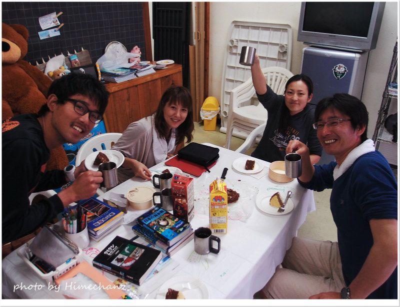 100本記念の乾杯! photo by Olympus XZ-1