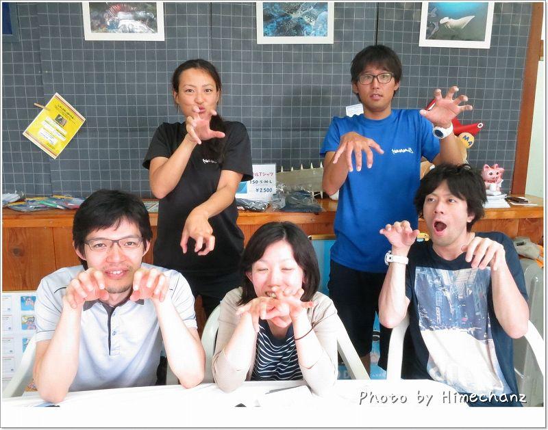 みんなでコブシメ! photo by CANON PowerShot S100