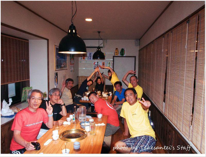 たけさん亭でワイワイ♪ photo by OLYMPUS OM-D E-M5