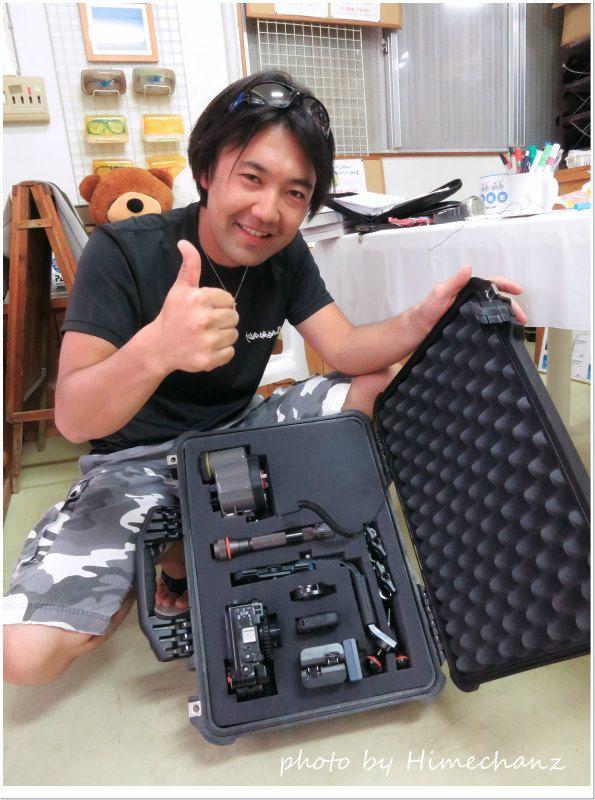 ストロボとライト購入でペリカンバッグに初収納♪ photo by CANON PowerShot S100