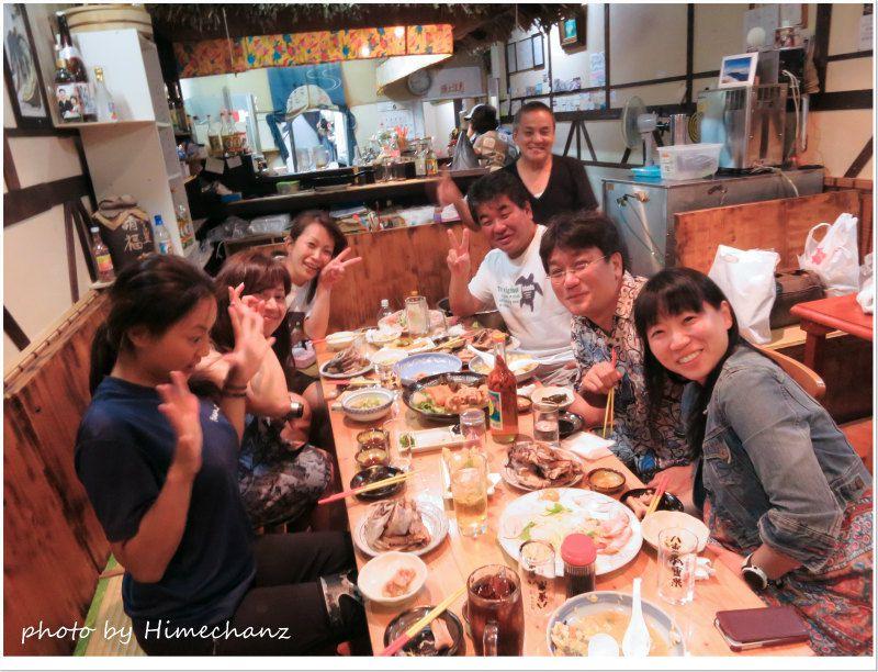 「金ちゃん」で宴会♪ photo by CANON PowerShot S100