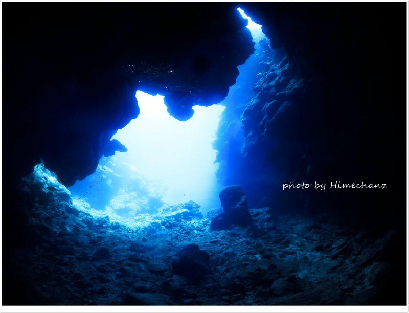 青くて淡い光を堪能♪ photo by CANON PowerShot S100