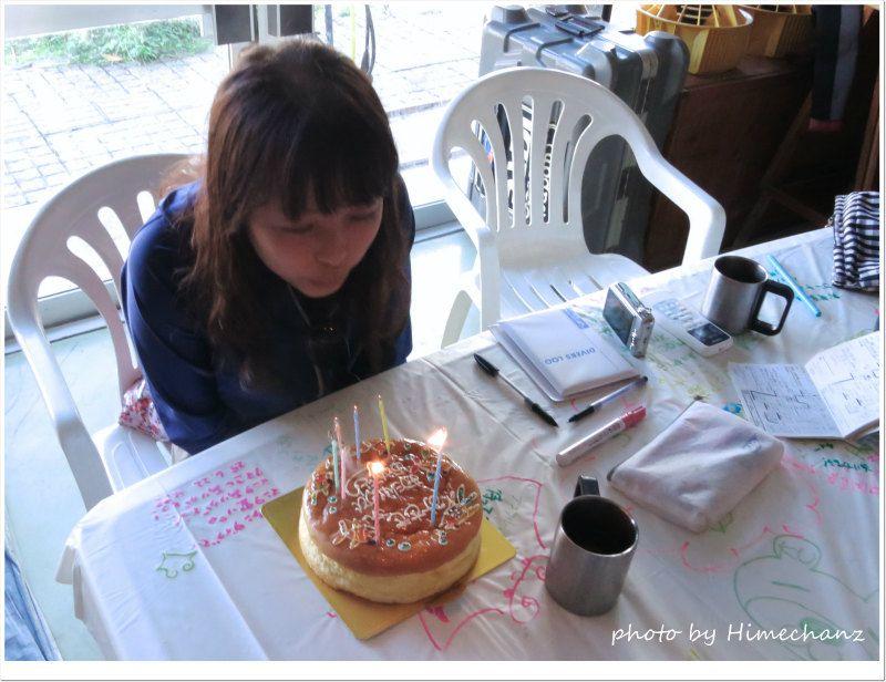 お店で誕生日パーティ♪ photo by CANON PowerShot S100