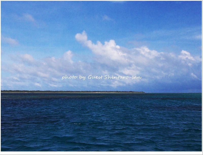 晴天の竹富島♪ photo by Olympus Pen E-PL3