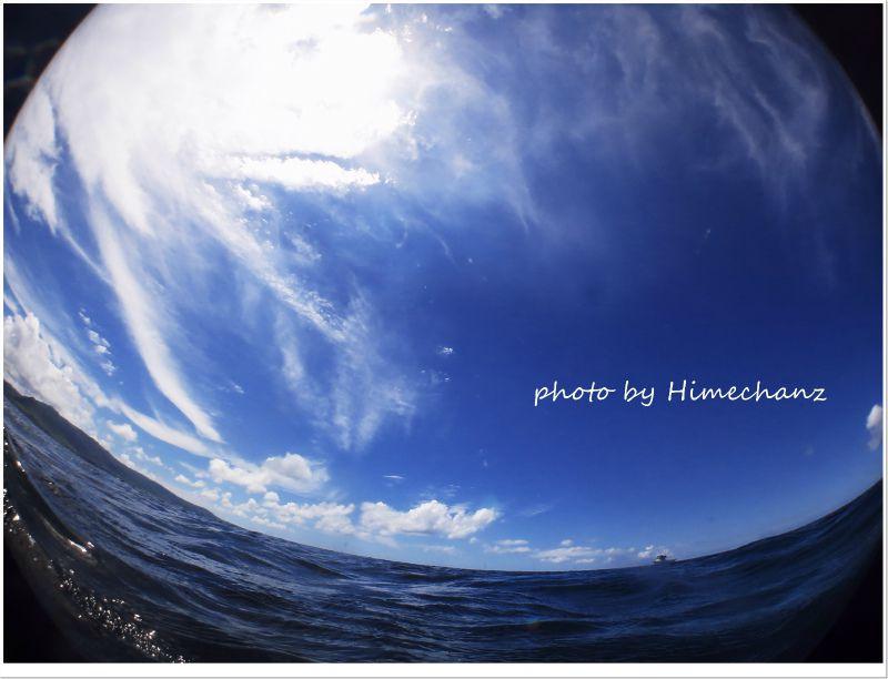 今日もえぇ天気でした! photo by CANON PowerShot S100
