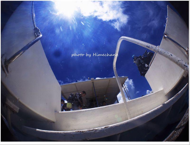 青空が気持ちいい♪ photo by CANON PowerShot S100