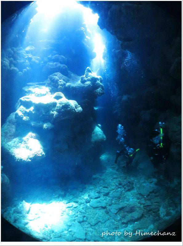 洞窟に行って正解でしたね♪ photo by CANON PowerShot S100