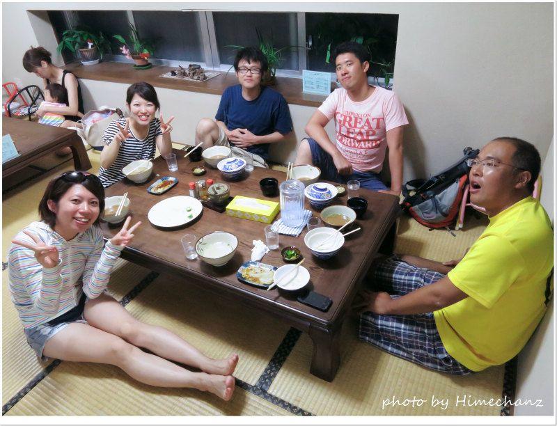 明石食堂でお腹いっぱいいただきました♪ photo by CANON PowerShot S100