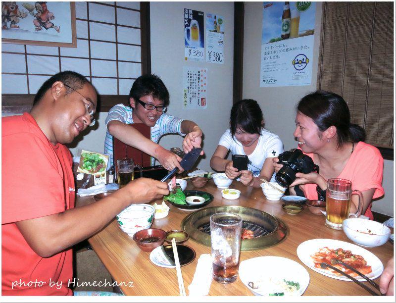 やっぱ「たけさん亭」のお肉やね♪ photo by CANON PowerShot S100