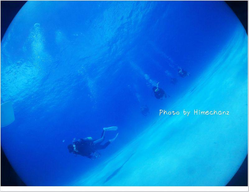 まったり泳ぐのも気持ちいい。 photo by CANON PowerShot S100