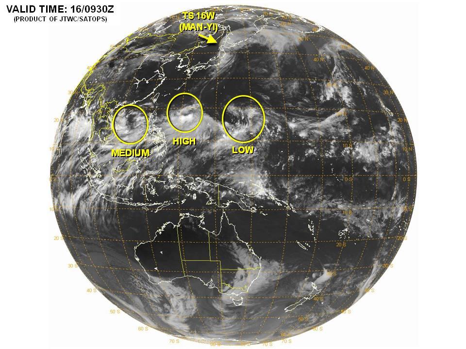 米海軍発表衛星写真