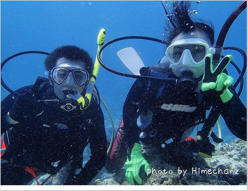とっても上手でした♪体験ダイバー photo by OLYMPUS STYLUS TG-2 Tough