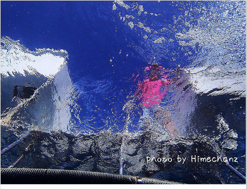 3本目を船の上で待ってくださっていたTさん♪ photo by OLYMPUS STYLUS TG-2 Tough