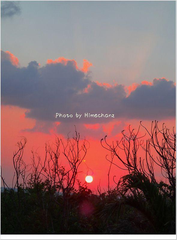 夕陽が美しかった! photo by OLYMPUS STYLUS TG-2 Tough