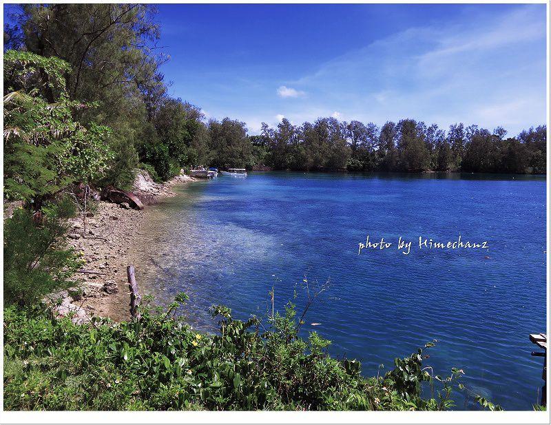 時間的に余裕があればランチは無人島に上陸していただけます♪ photo by CANON PowerShot S100