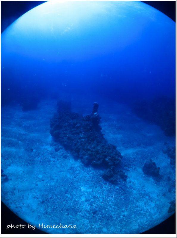 潜水艦に見えますか~!? photo by CANON PowerShot S100