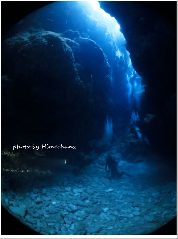 こちらの洞窟は大きめサイズ♪ photo by CANON PowerShot S100