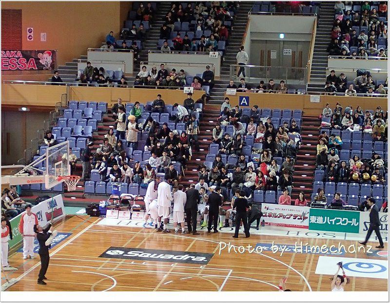 大阪での試合にも関わらず沢山のブースター!