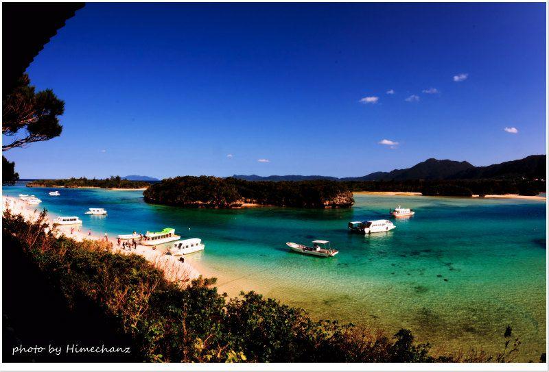 定番の川平湾。いつ来てもこの景色は最高ですね! photo by NIKON D300