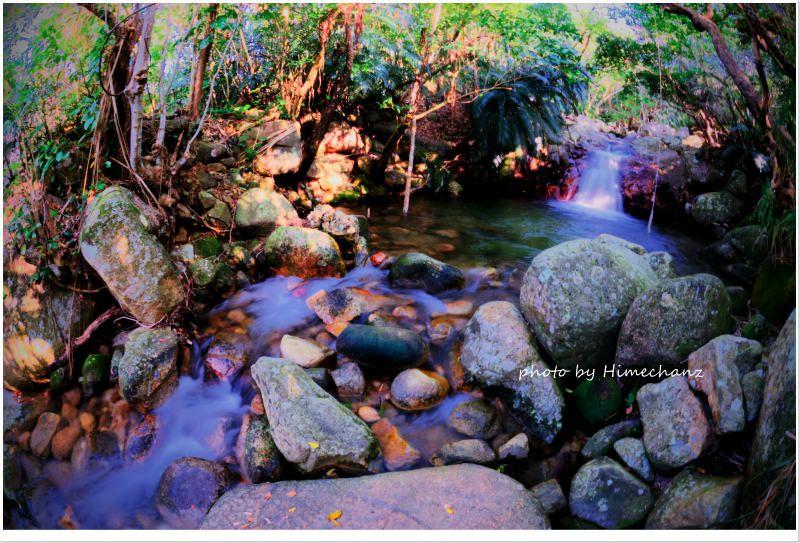 荒川の滝、マイナスイオンをたっぷり浴びてきましたw photo by NIKON D300