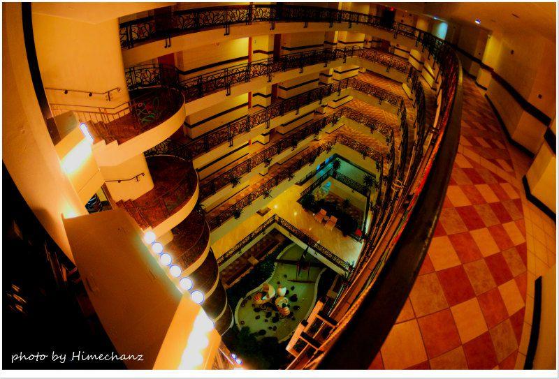 パラオの中では中の上なこのホテル。リゾート感が十分あります♪ photo by Nikon D300