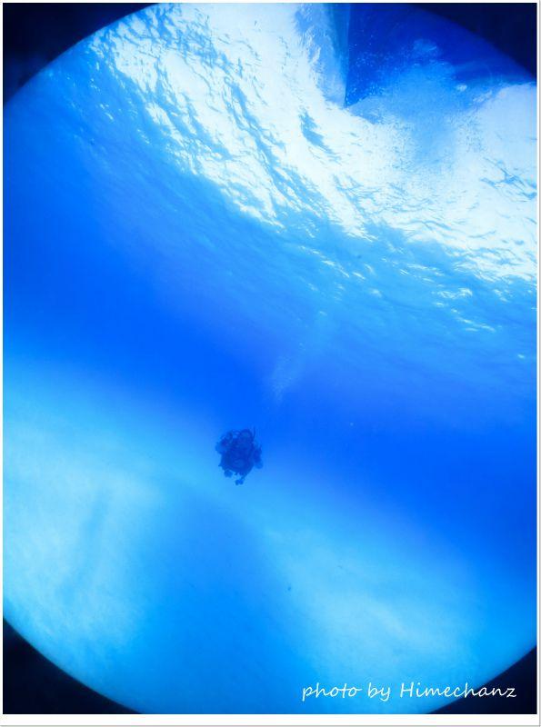 最高の正月ダイビングでしたね♪ photo by CANON PowerShot S100