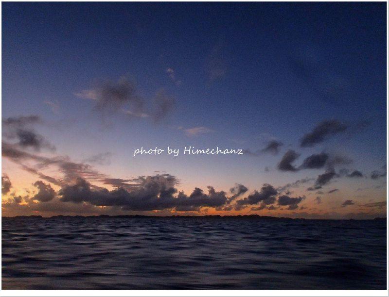 うっすらと明るくなってきました♪ photo by CANON PowerShot S100