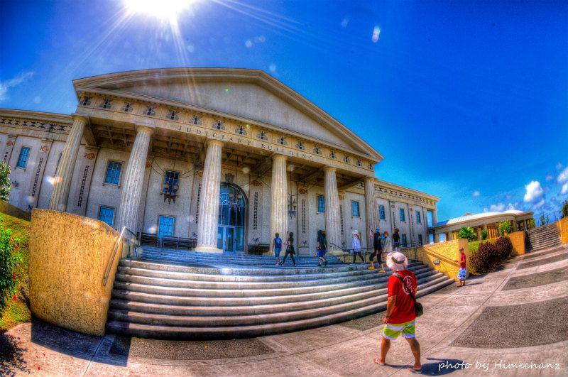 パラオの裁判所だよ~! photo by Nikon D300