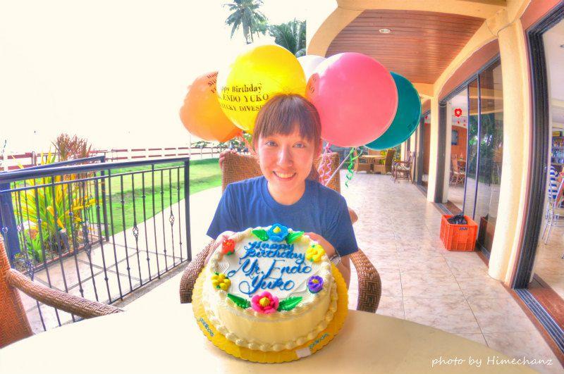 本当は今日2/19が誕生日のえんどぅ♪皆で一足お先にお祝いさせていただきました♪ photo by Nikon D300