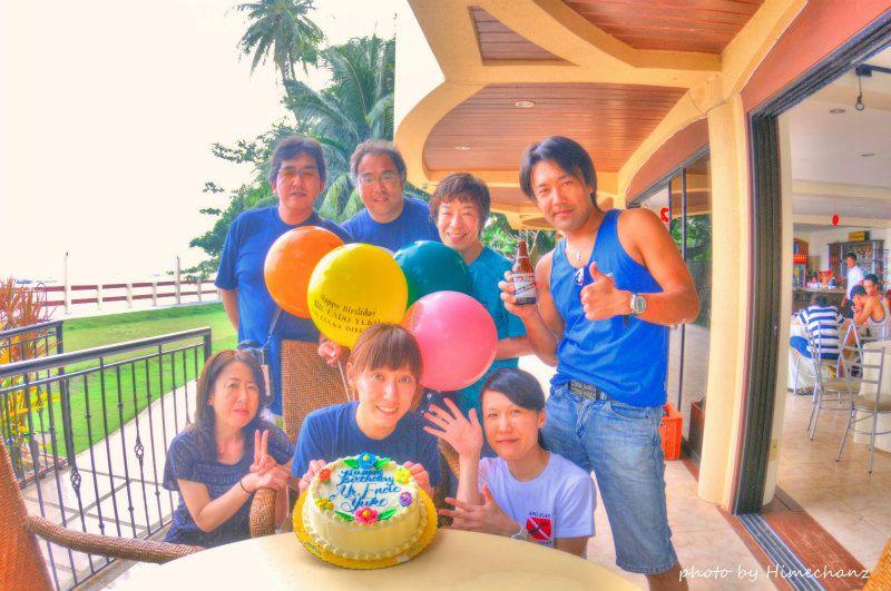 サプライズお祝い大成功♪ photo by Nikon D300