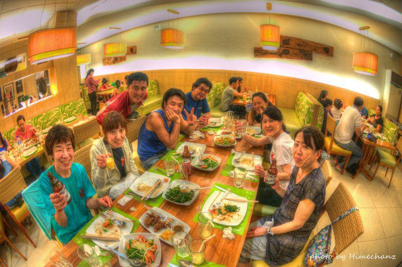 日本人好みのお味で美味しく楽しくいただきました♪ photo by Nikon D300