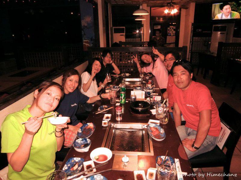 韓国焼肉のお店でお腹いっぱい♪ photo by CANON PowerShot S100