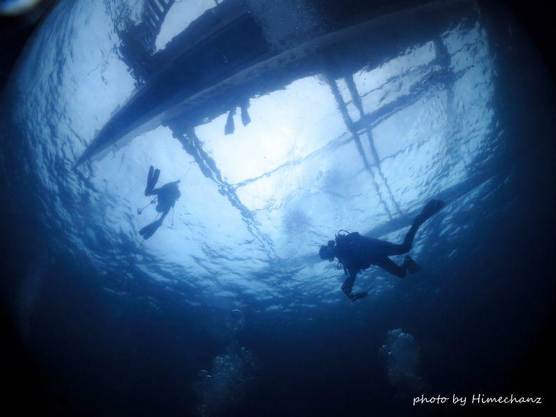 アポ島はどんな海なんでしょうね♪ photo by CANON PowerShot S100