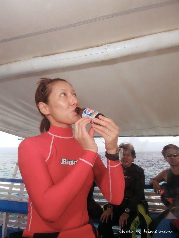 フィリピンでは現地調達でリポD注入でっす♪ photo by CANON PowerShot S100