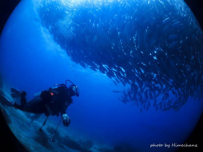 セブ島5回めのみちこさん、初めてのバリカサグにうっとりです♪ photo by CANON PowerShot S100