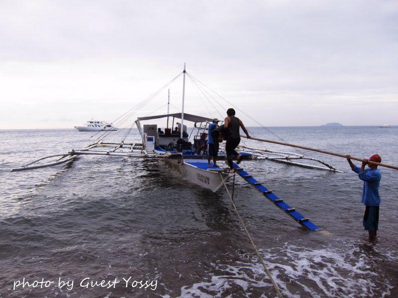 いざ、アポ島へ! photo by CANON PowerShot S90